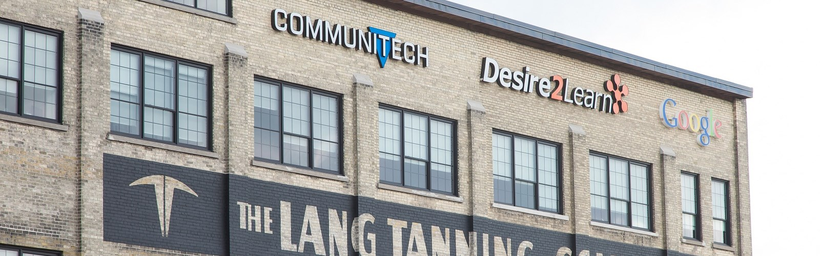 Communitech on a building