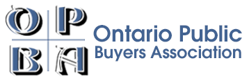 Logo of the Ontario Public Buyers Association