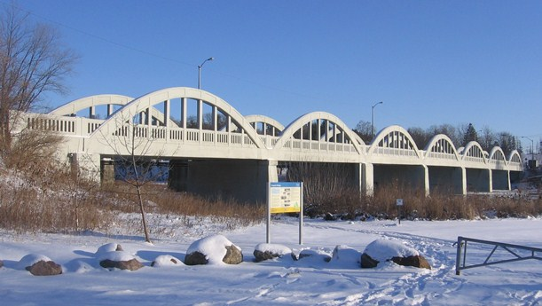 Picture of the Freeport Bridge