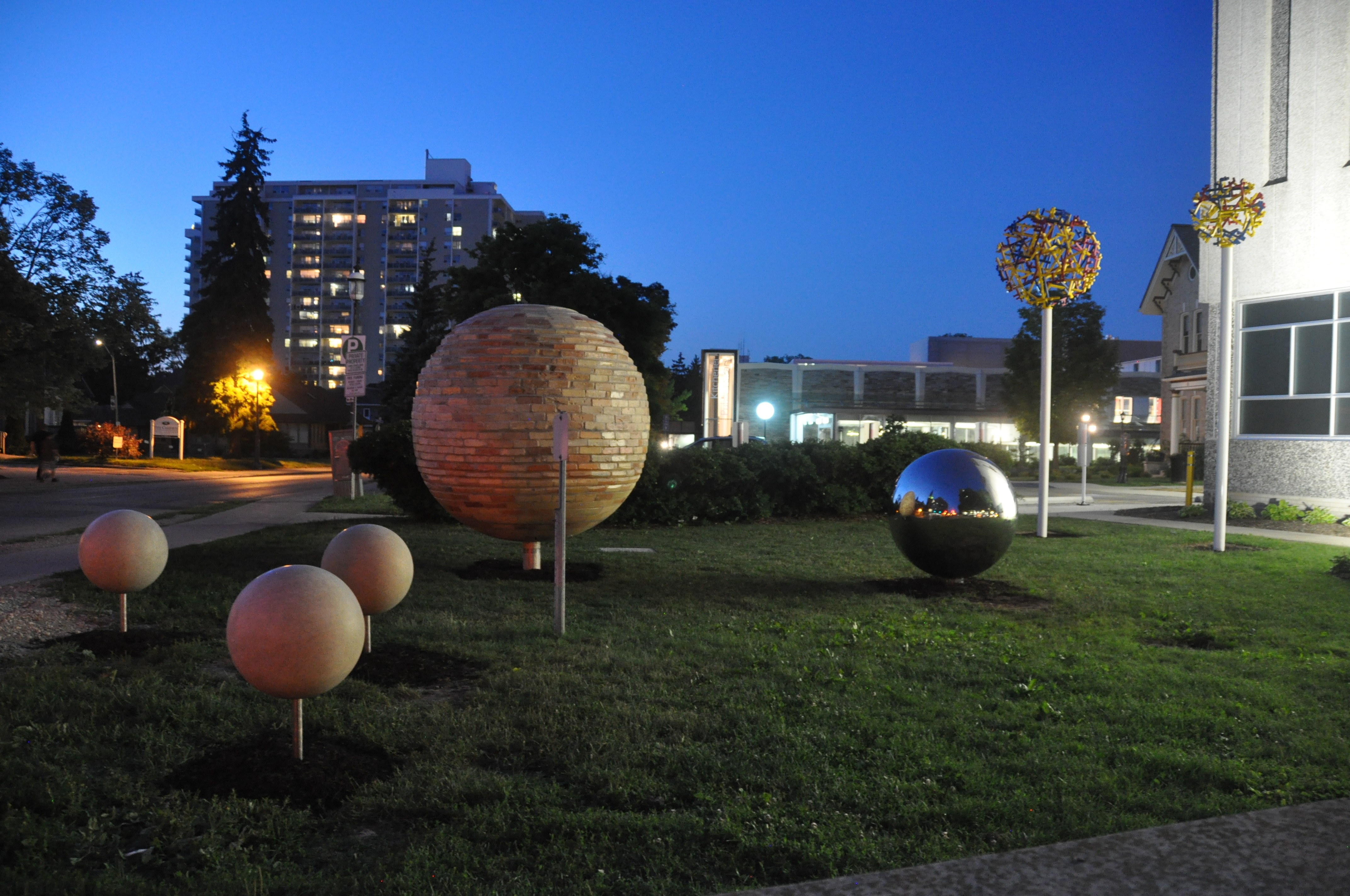 Image of past-present-future public art