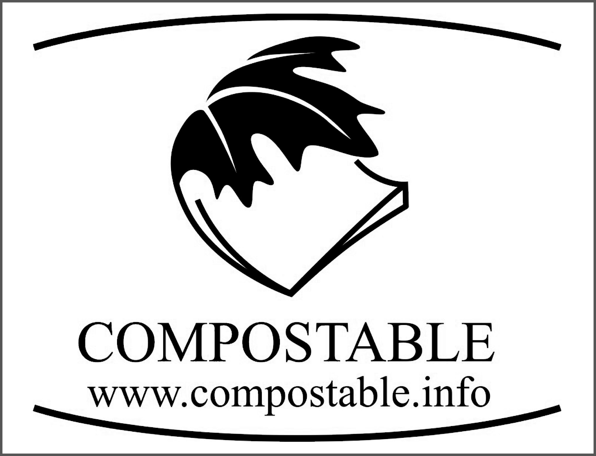 Canadian Certified compostable logo