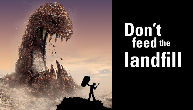 Don't feed the landfill