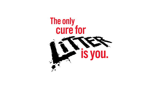 The only cure for litter is you