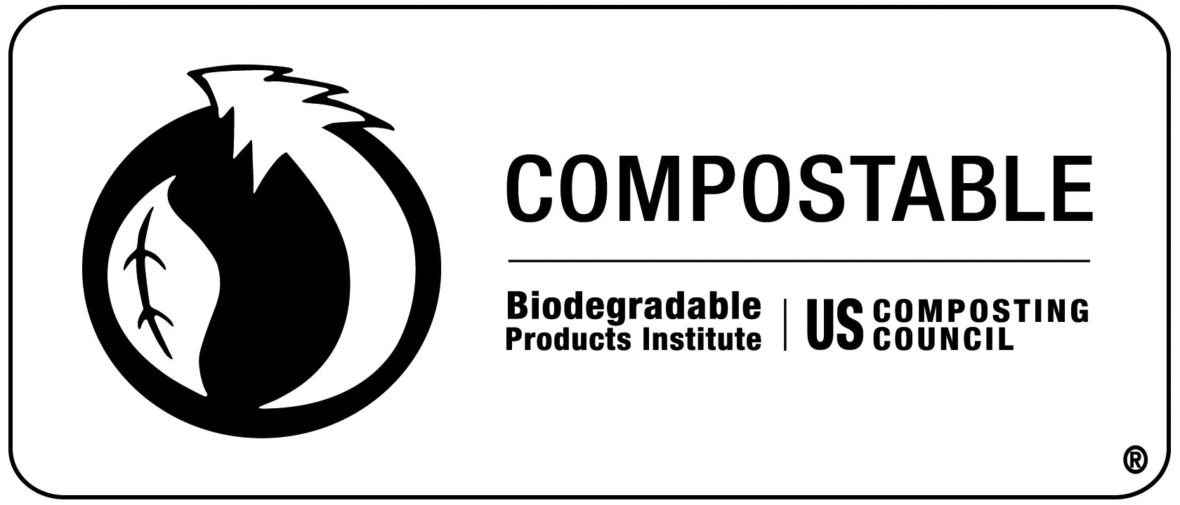 US Certified compostable logo