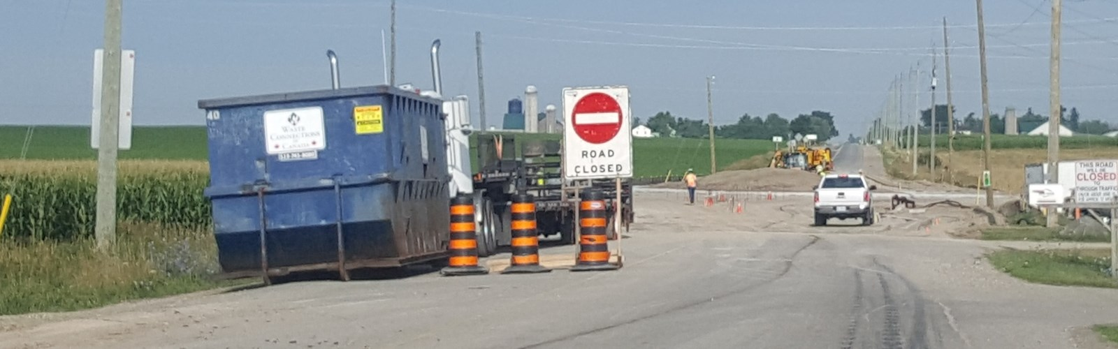 Construction and Road Closures - Region of Waterloo