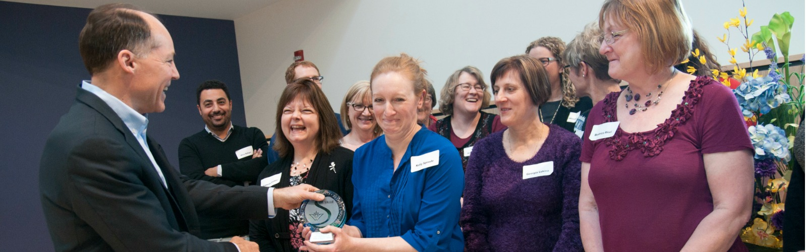Region employees receive award for values excellence